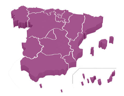 Mapa de España - CCAA